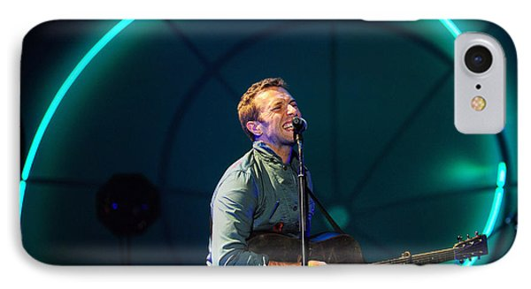 Coldplay IPhone Case by Rafa Rivas