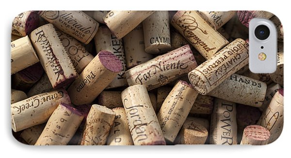 Collection Of Fine Wine Corks IPhone Case by Adam Romanowicz