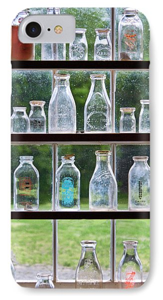 Collector - Bottles - Milk Bottles  Phone Case by Mike Savad