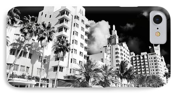 Collins Avenue IPhone 7 Case by John Rizzuto