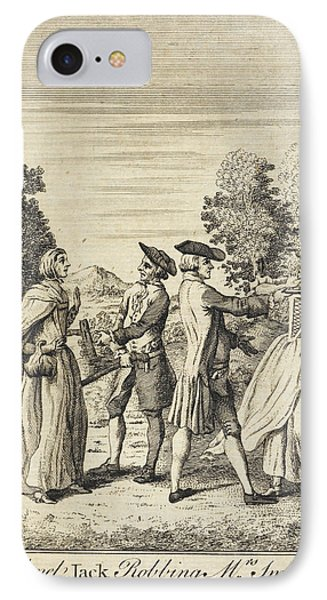Colonel Jack Robbing Mrs Smith IPhone Case by British Library