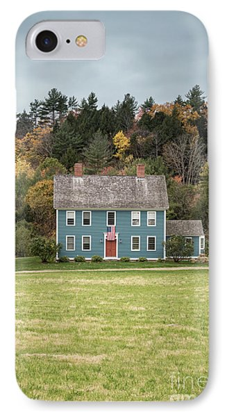 Colonial Home IPhone Case by Edward Fielding