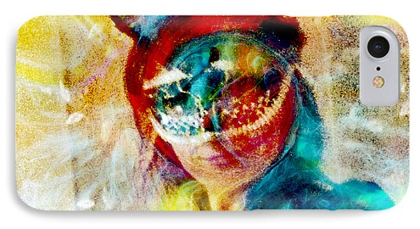Color Mask Phone Case by Linda Sannuti