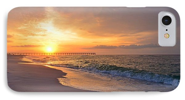 Color Palette Of God On The Beach Phone Case by Jeff at JSJ Photography