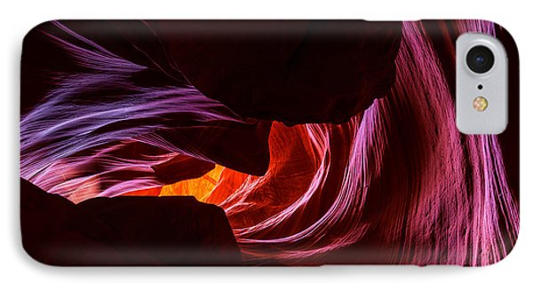 Color Ribbons IPhone Case by Chad Dutson