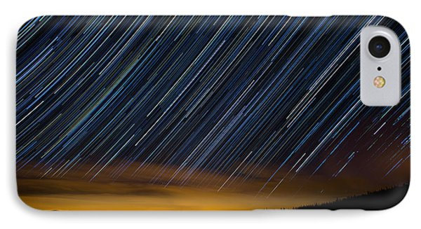 Colorado Mountain Startrails Phone Case by Benjamin Reed