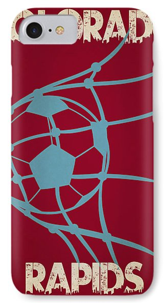 Colorado Rapids Goal IPhone 7 Case by Joe Hamilton