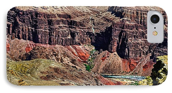Colorado River In The Grand Canyon High Water Phone Case by Bob and Nadine Johnston
