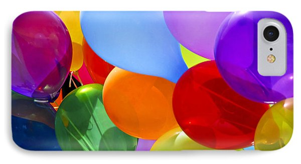 Colorful Balloons IPhone Case by Elena Elisseeva