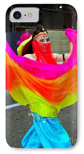 Colorful Dance Phone Case by Ed Weidman