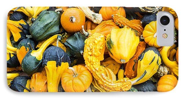 Colorful Gourds  IPhone Case by John Trax