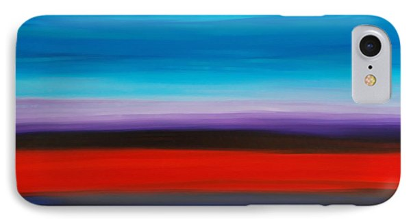 Colorful Shore - Abstract Art By Sharon Cummings Phone Case by Sharon Cummings