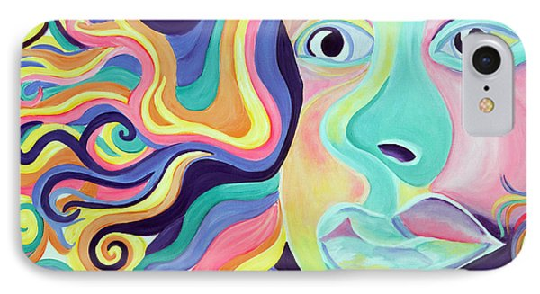 Colorful Thoughts Phone Case by Lorinda Fore
