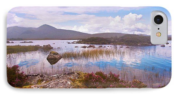 Colorful World Of Rannoch Moor. Scotland Phone Case by Jenny Rainbow