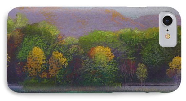 Colors By The Tracks Phone Case by Sherri Anderson