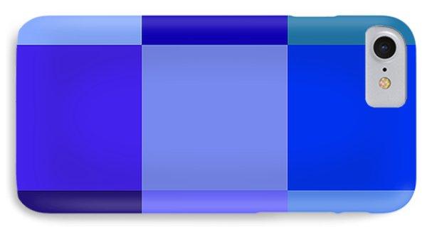 Colors Of Blue Phone Case by Karon Melillo DeVega