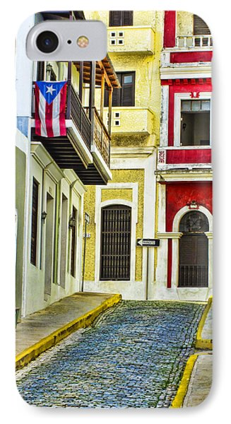 Colors Of Old San Juan Puerto Rico IPhone Case by Carter Jones