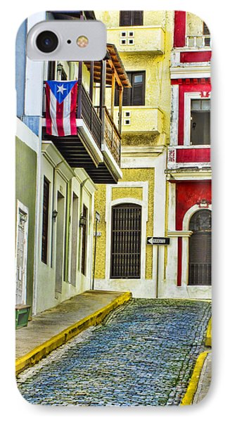Colors Of Old San Juan Puerto Rico IPhone Case by Carter Jones
