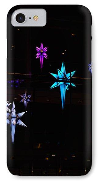 Colors Stars IPhone Case by Gloria Pasko