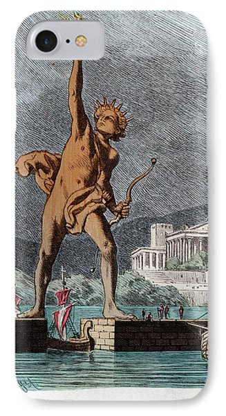 Colossus Of Rhodes IPhone Case by Cci Archives