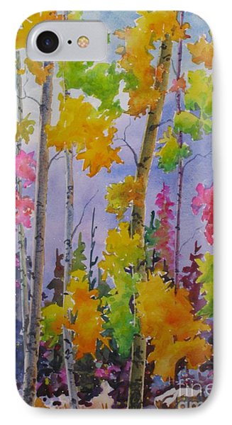 Colours Of Fall IPhone Case by Mohamed Hirji