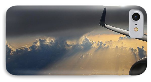Coming Thru The Storm Phone Case by Bob Hislop