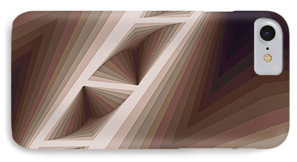 Composition 165 IPhone Case by Terry Reynoldson