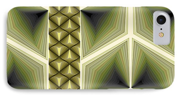 Composition 231 IPhone Case by Terry Reynoldson