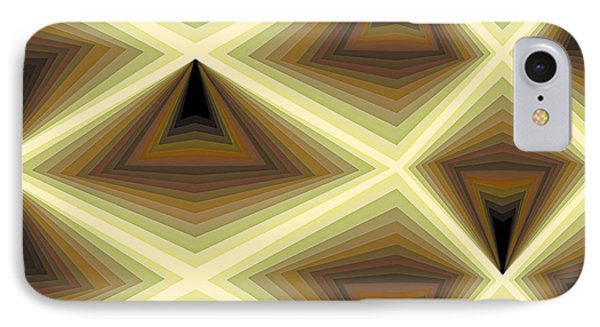 Composition 232 IPhone Case by Terry Reynoldson