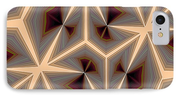 Composition 234 IPhone Case by Terry Reynoldson