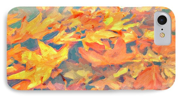 Computer Generated Image Of Autumn IPhone Case by Angela A Stanton