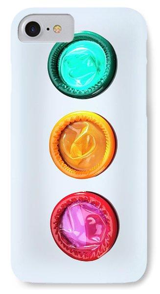 Condoms IPhone Case by Tek Image