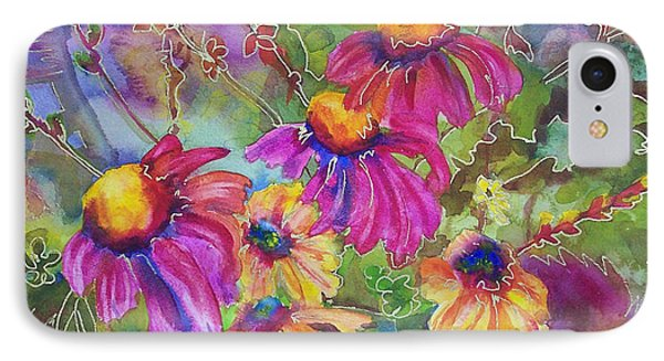 Coneflowers And Co  IPhone Case by Blenda Studio