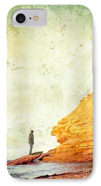 Contemplation Point IPhone Case by Edward Fielding