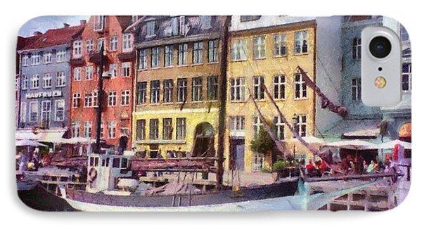 Copenhagen Phone Case by Jeff Kolker