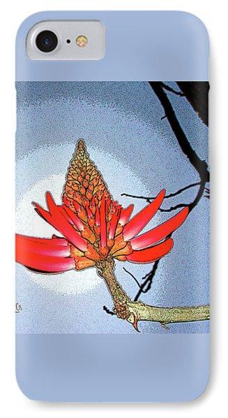 Coral Tree Phone Case by Ben and Raisa Gertsberg
