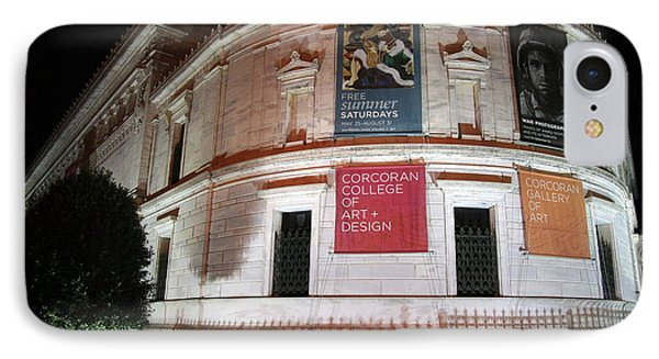 Corcoran Gallery Of Art IPhone Case by Cora Wandel