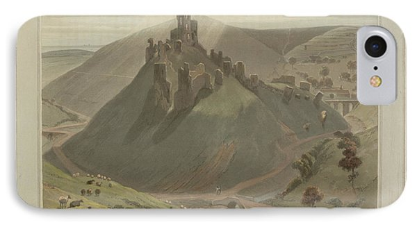 Corfe Castle IPhone Case by British Library