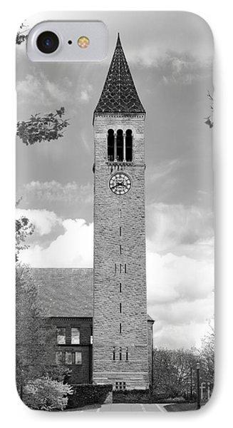 Cornell University Mc Graw Tower IPhone Case by University Icons