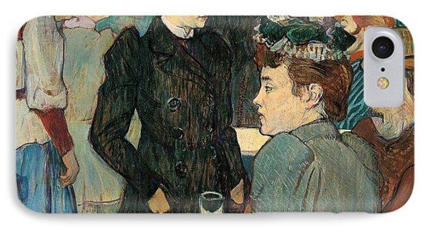 Corner Of Moulin De La Galette IPhone Case by Henri de Toulouse Lautrec