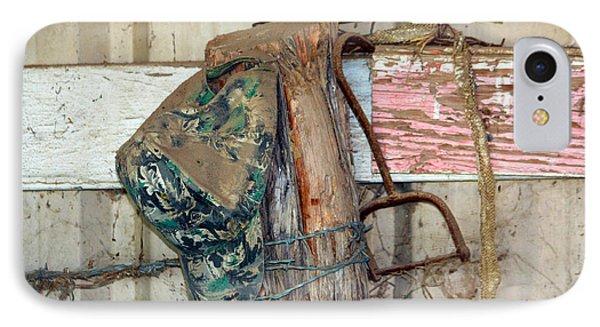 Corner Of The Barn IPhone Case by Jeff Tuten