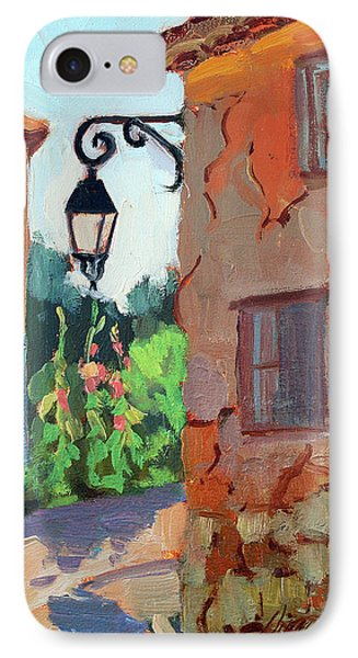 Street Corner In St. Colombe IPhone Case by Diane McClary