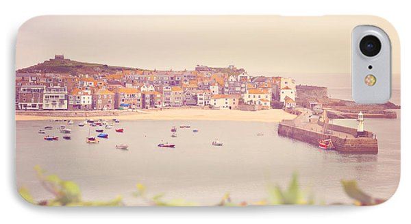 Cornish Harbour Phone Case by Lyn Randle