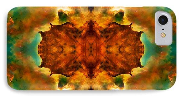 Cosmic Kaleidoscope 2  Phone Case by Jennifer Rondinelli Reilly - Fine Art Photography
