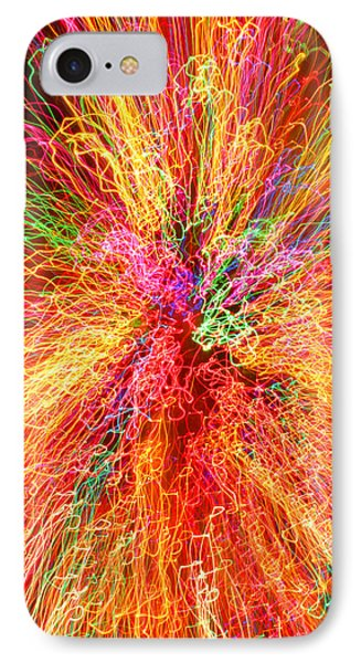 Cosmic Phenomenon Or Christmas Lights Phone Case by Barbara West