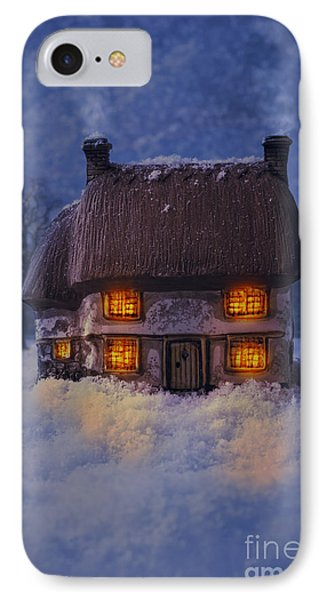 Cosy Country Cottage IPhone Case by Amanda Elwell