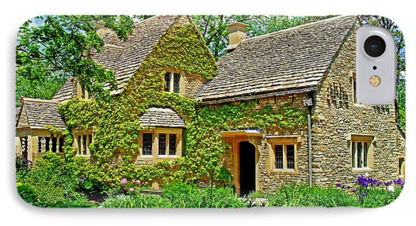 IPhone Case featuring the photograph Cotswold Cottage by Rodney Campbell
