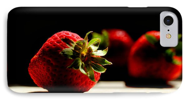 Countertop Strawberries IPhone 7 Case by Michael Eingle