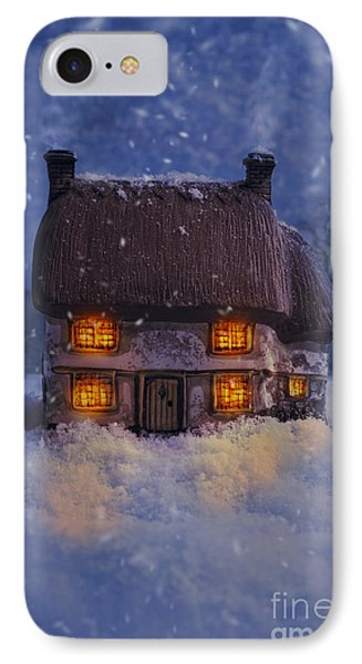 Country Cottage IPhone Case by Amanda Elwell