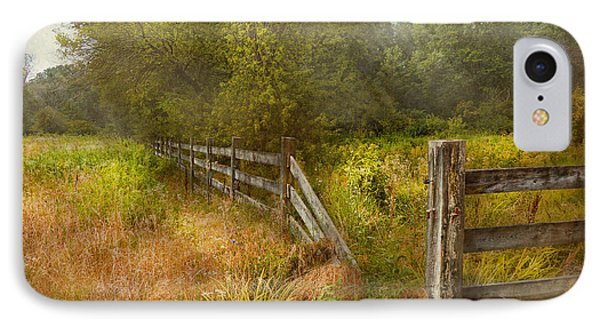 Country - Landscape - Lazy Meadows Phone Case by Mike Savad
